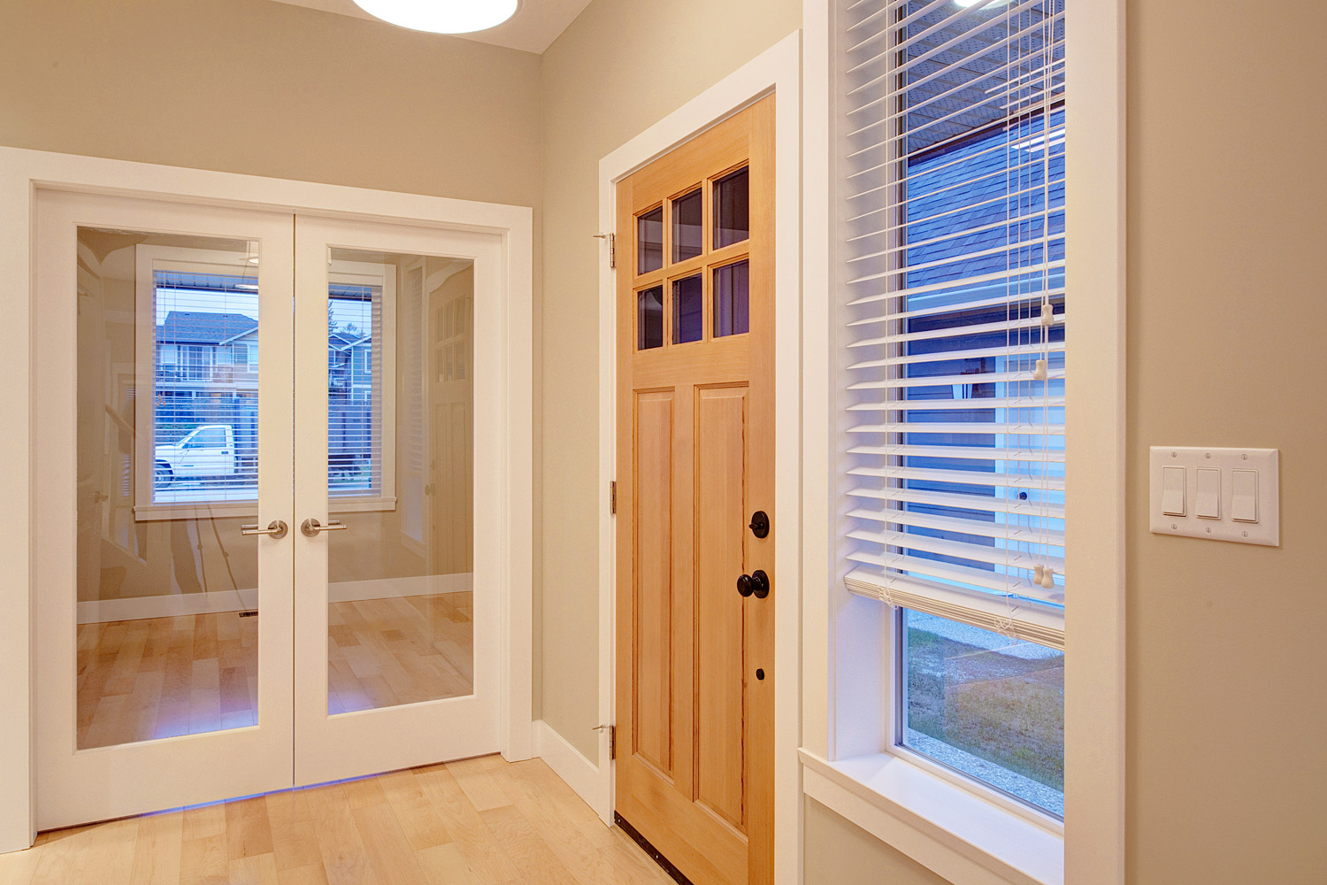 French Door Blindsphoto Door Window Roller Blinds Deuren & Den Doors - Sanfranciscolife