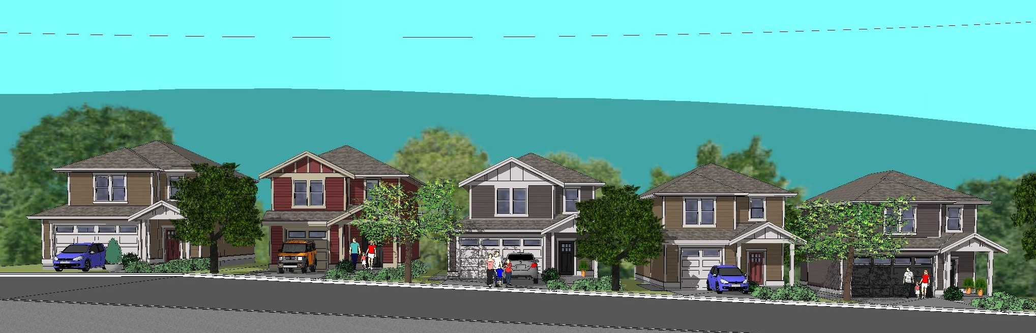 Sombrio and Tofino Plans at Woodland Creek