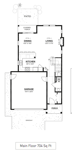 Sombrio Main Floor Plan