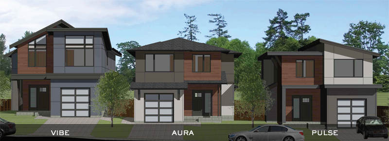 New Westcoast Modern Homes Victoria BC