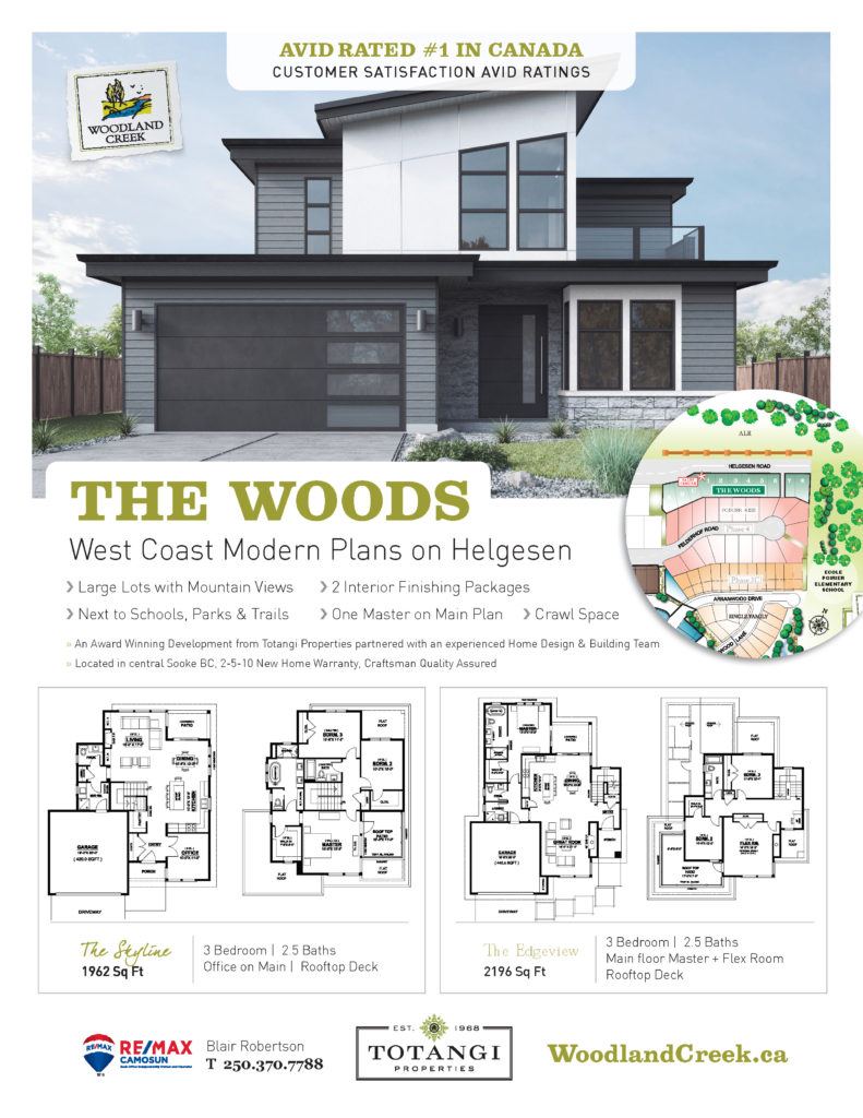 House Plans • Woodland Creek: New Homes in Sooke BC