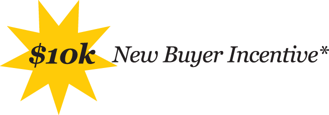 10k New Buyer Incentives